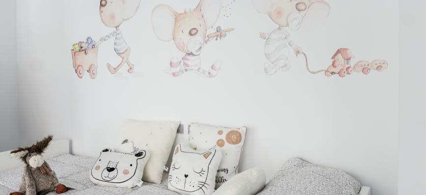 vinilos para dormitorios infantiles y juveniles
